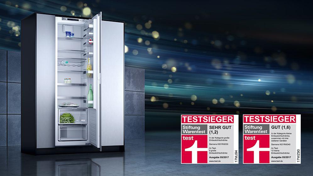 Siemens Kühlschrank Vergleich : Siemens testsieger elektrogeräte bei monsator hausgeräte dresden